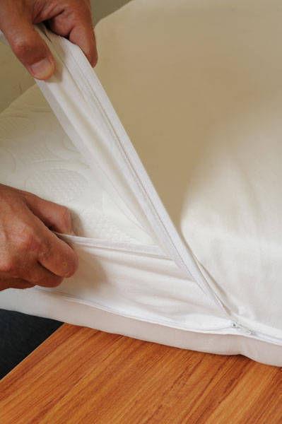 immunoctem housse matelas anti acariens sans. Black Bedroom Furniture Sets. Home Design Ideas